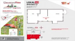Architektów 18, lokal usługowy 181 m2