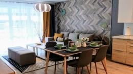 Mieszkanie wykończone w nowoczesnym stylu na Osiedlu SkyRes już dostępne