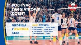 Półfinał Ligi Siatkówki Kobiet już w najbliższą niedzielę!