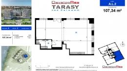 Tarasy Nad Zalewem, budynek A, lokal handlowy 107,34 m2