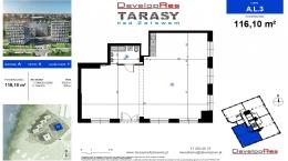 Tarasy Nad Zalewem, budynek A, lokal handlowy 116,10 m2