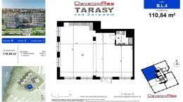 Tarasy Nad Zalewem, budynek B, lokal handlowy 110,84 m2