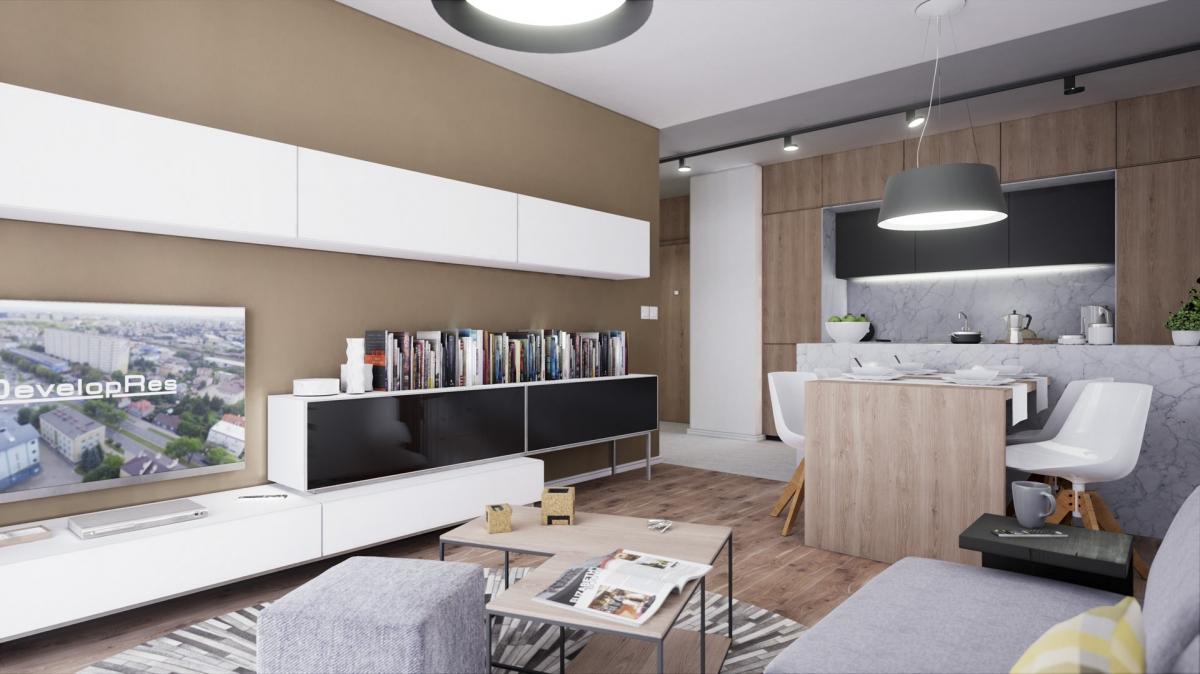 Mieszkanie 54,73 m2, Warszawska/Lubelska, Rzeszów