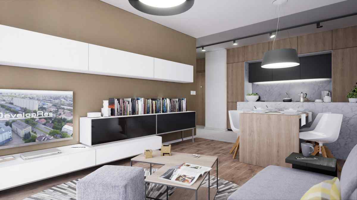 Mieszkanie 54,77 m2, Warszawska/Lubelska, Rzeszów