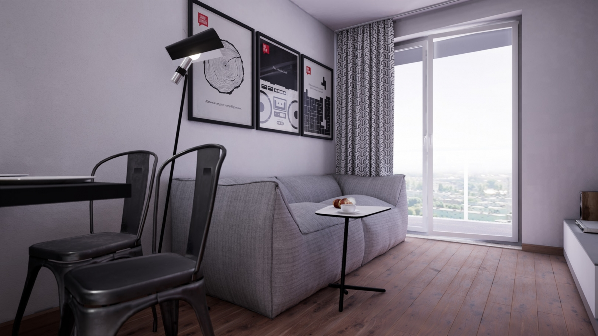 Mieszkanie 35,63 m2, Warszawska/Lubelska, Rzeszów