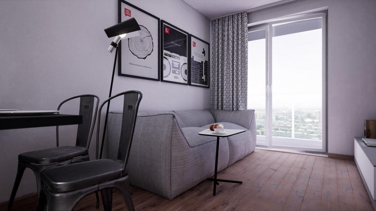 Mieszkanie 34,79 m2, Warszawska/Lubelska, Rzeszów