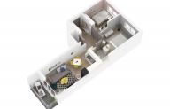 Mieszkanie 59,72 m2, Lubelska, Rzeszów