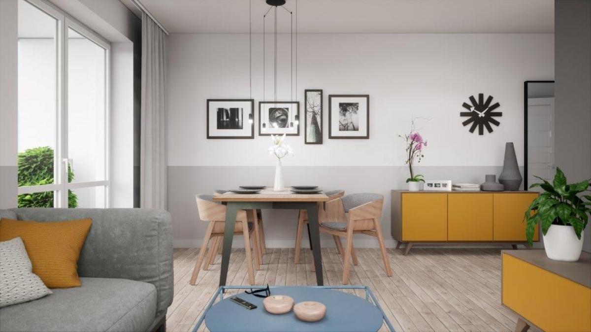 Mieszkanie 61,57 m2, Lubelska, Rzeszów