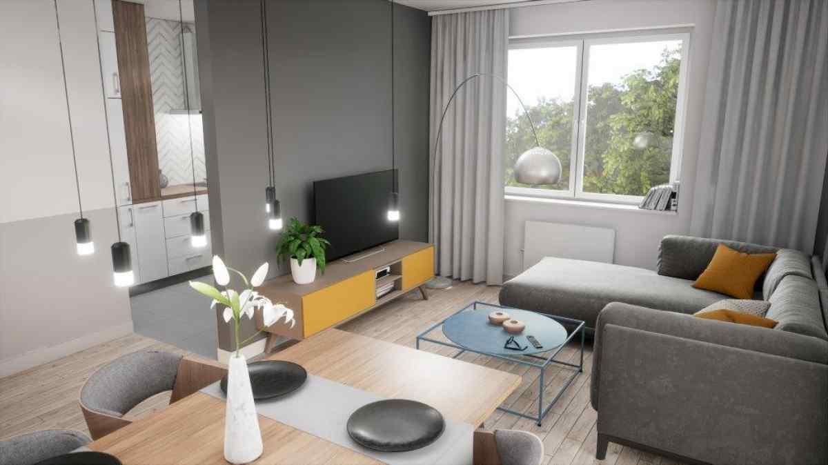 Mieszkanie 61,59 m2, Lubelska, Rzeszów