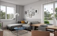 Mieszkanie 61,71 m2, Lubelska, Rzeszów