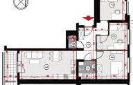 Mieszkanie 67,48 m2, Lubelska, Rzeszów