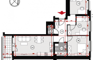 Mieszkanie 67,45 m2, Lubelska, Rzeszów