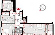 Mieszkanie 68,52 m2, Lubelska, Rzeszów