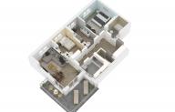 Mieszkanie 85,52 m2, Lubelska, Rzeszów