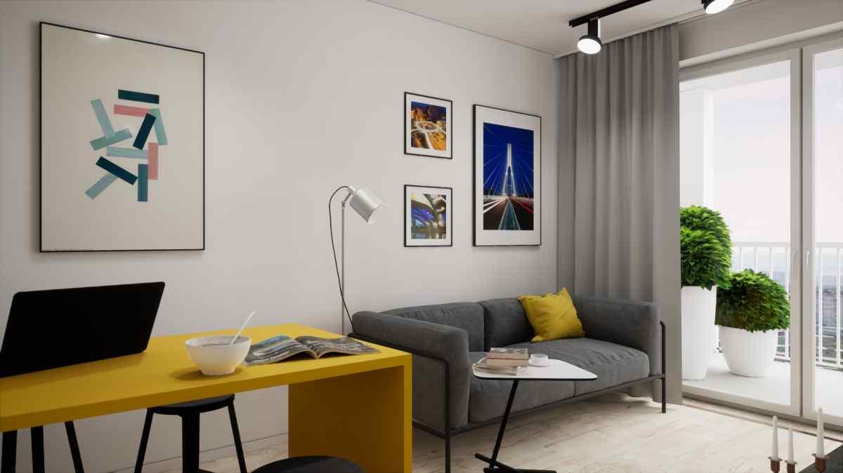 Mieszkanie 35,74 m2, Warszawska/Lubelska, Rzeszów