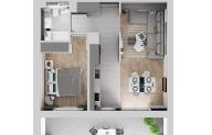 Mieszkanie 47,03 m2, Warszawska/Lubelska, Rzeszów