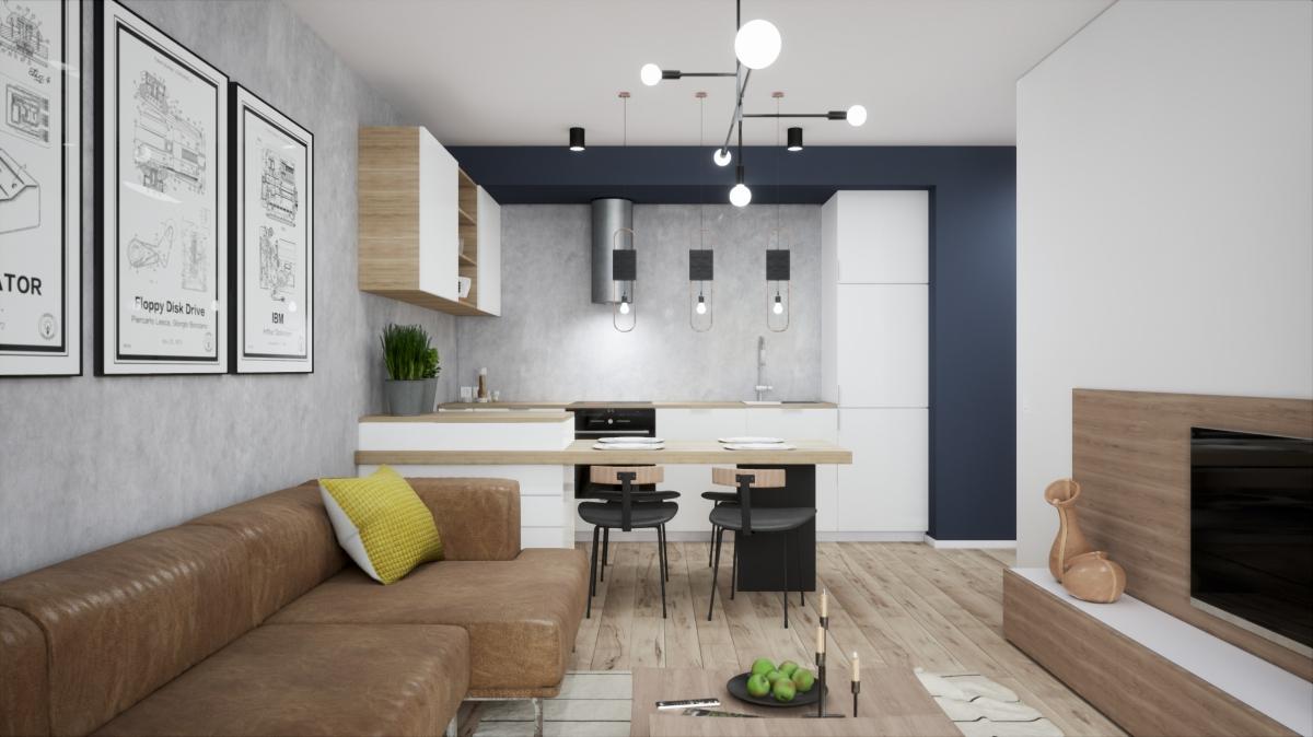 Mieszkanie 57,86 m2, Warszawska/Lubelska, Rzeszów