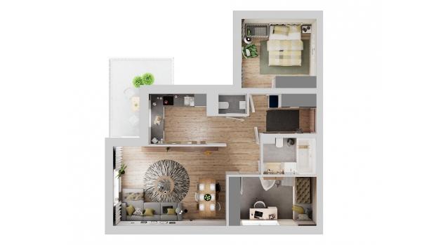 Mieszkanie 69.98 m2