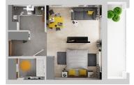 Mieszkanie 36,32 m2, Warszawska/Lubelska, Rzeszów