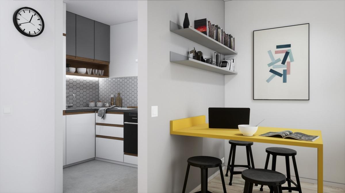 Mieszkanie 35,9 m2, Warszawska/Lubelska, Rzeszów