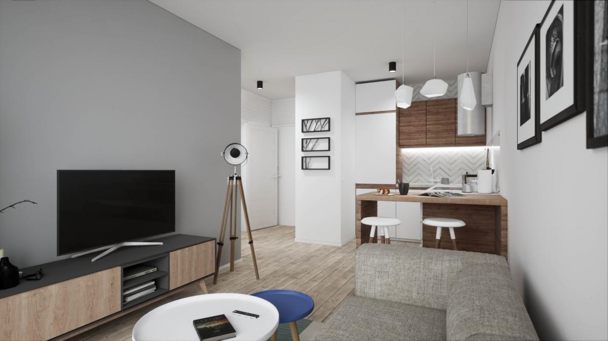Mieszkanie 34,43 m2, Warszawska/Lubelska, Rzeszów