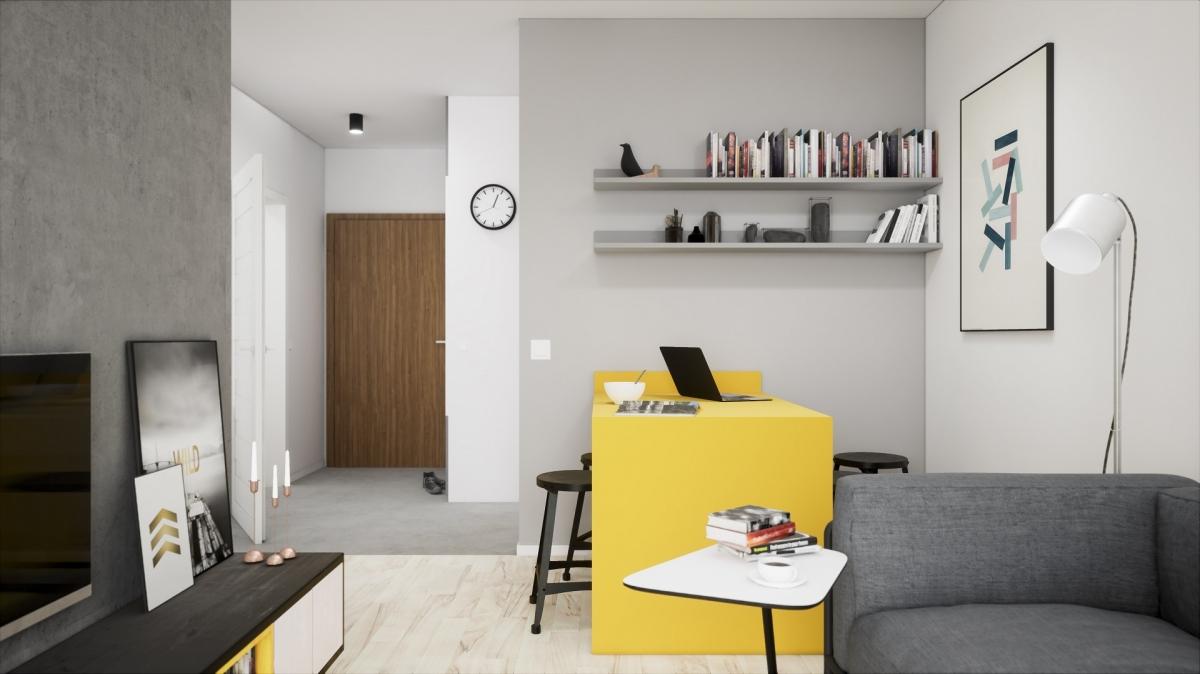 Mieszkanie 36,64 m2, Warszawska/Lubelska, Rzeszów