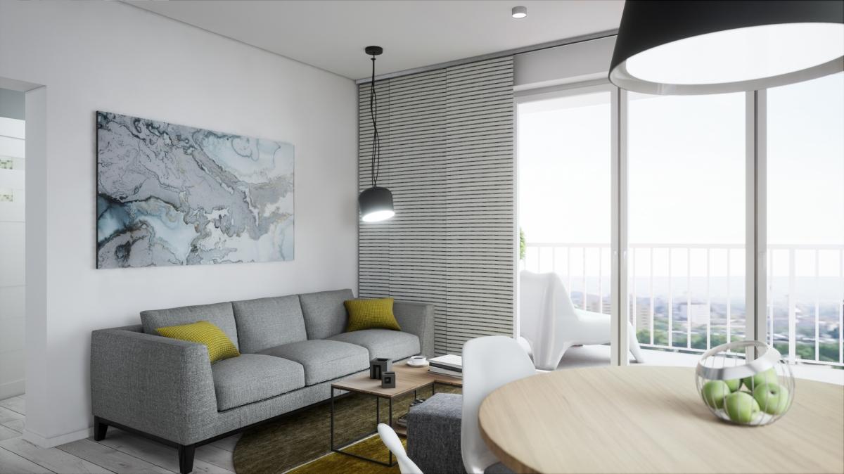 Mieszkanie 48,82 m2, Warszawska/Lubelska, Rzeszów