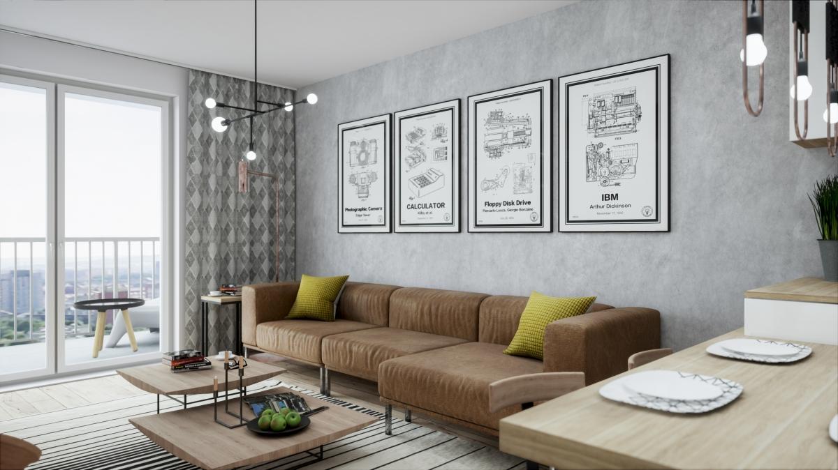 Mieszkanie 56,67 m2, Warszawska/Lubelska, Rzeszów