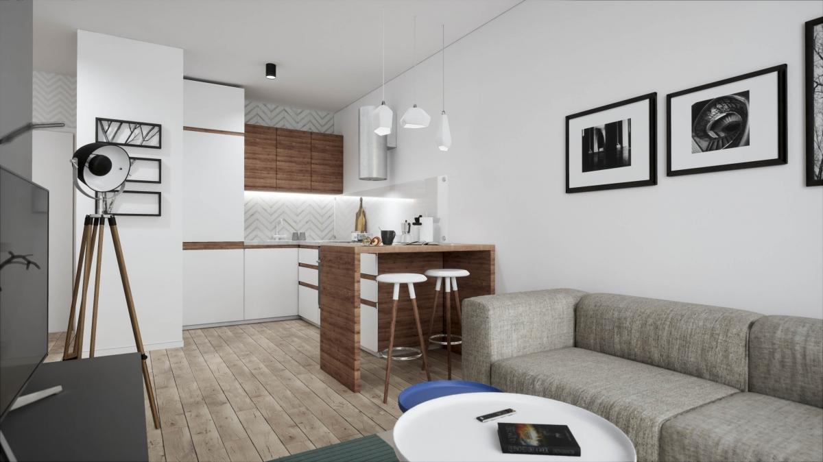 Mieszkanie 33,81 m2, Warszawska/Lubelska, Rzeszów