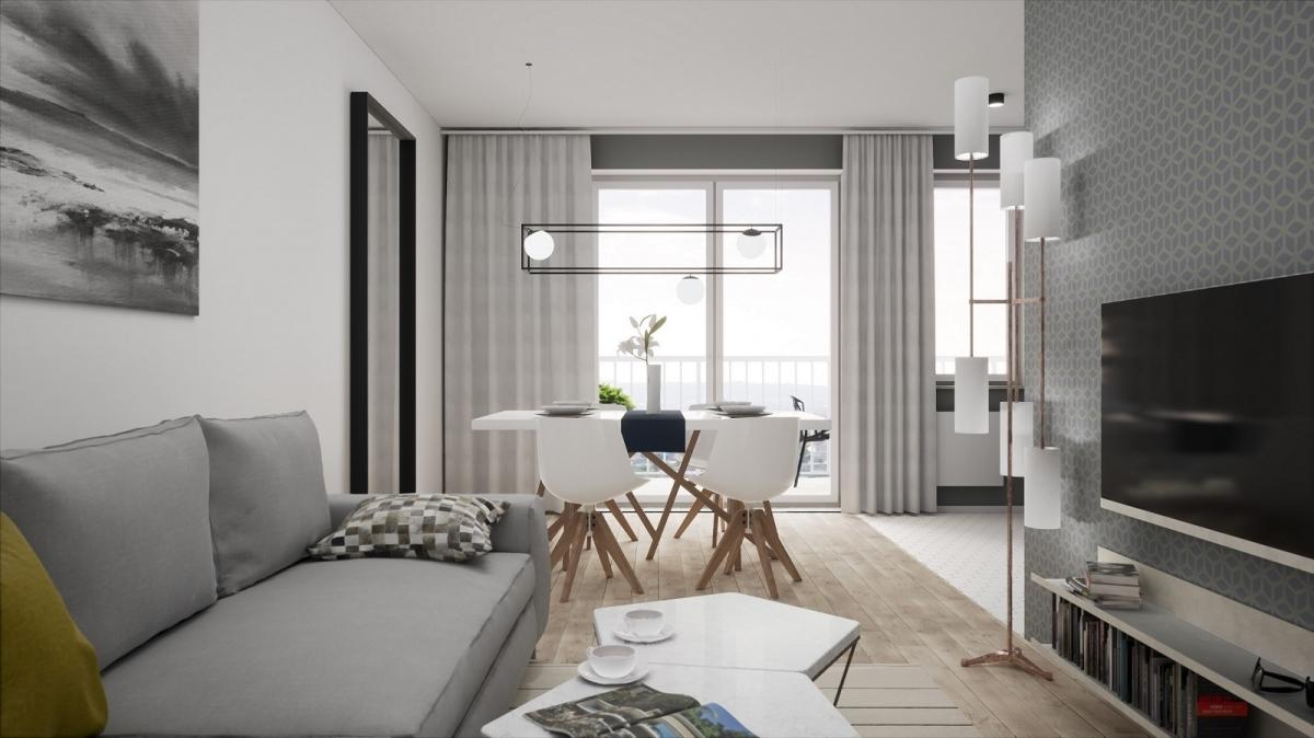 Mieszkanie 47,11 m2, Warszawska/Lubelska, Rzeszów