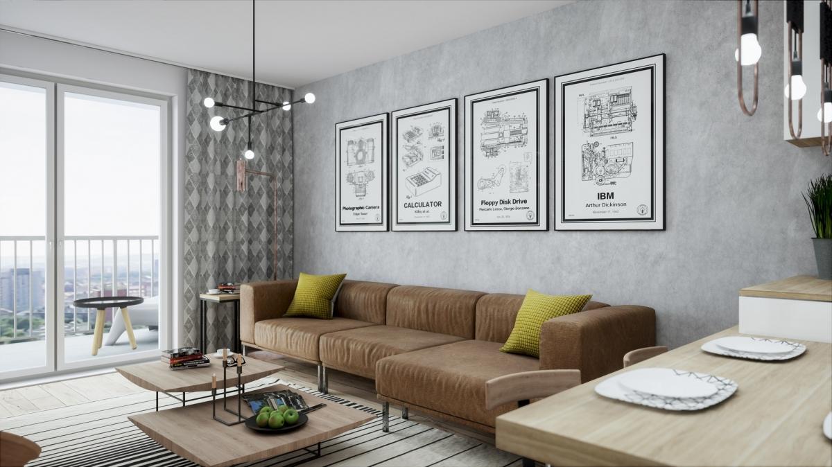 Mieszkanie 57,77 m2, Warszawska/Lubelska, Rzeszów