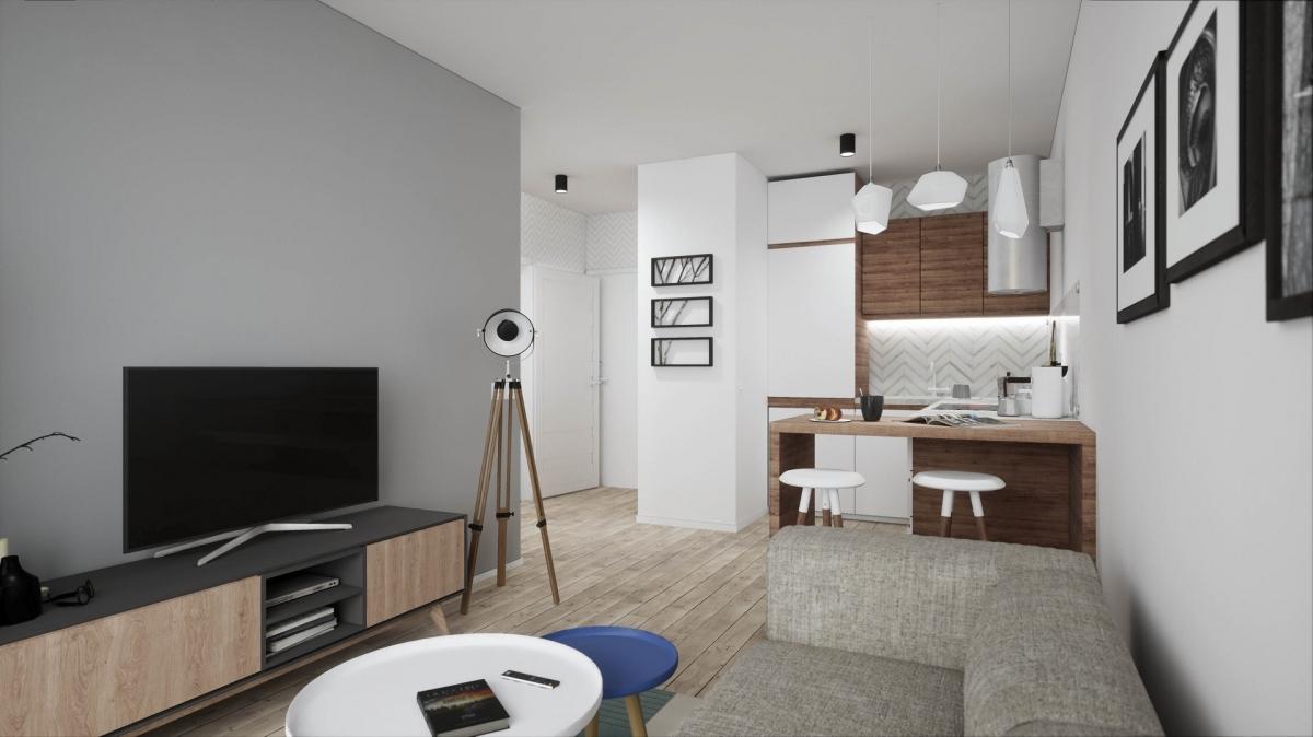 Mieszkanie 34,22 m2, Warszawska/Lubelska, Rzeszów