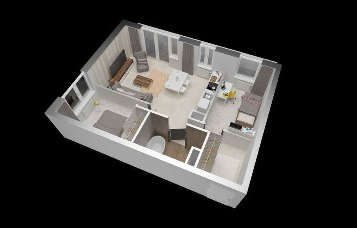 Mieszkanie 55,4 m2, Warszawska/Lubelska, Rzeszów