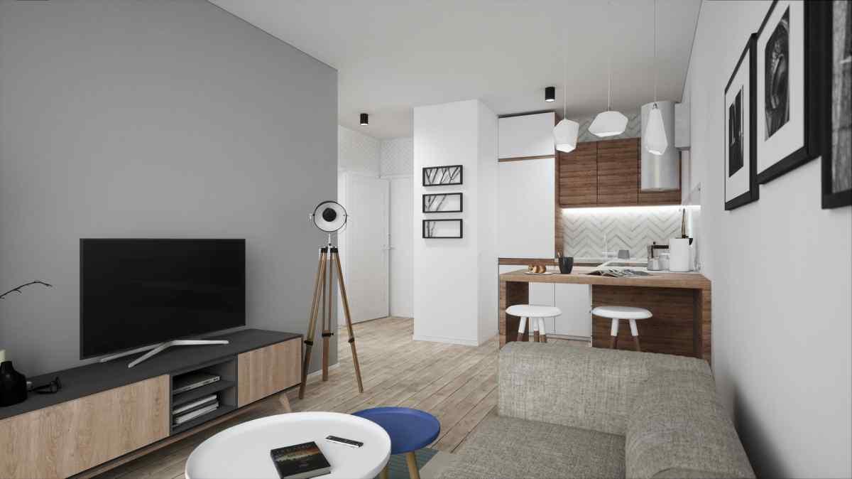 Mieszkanie 34,29 m2, Warszawska/Lubelska, Rzeszów