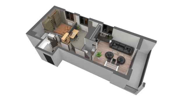 Mieszkanie 64.85 m2