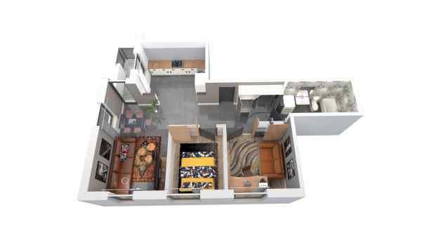 Mieszkanie 64.88 m2