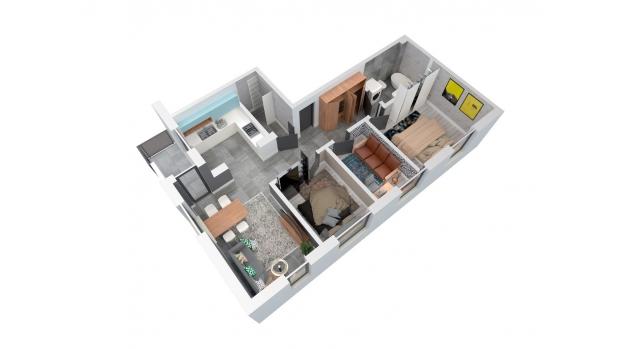 Mieszkanie 75.49 m2