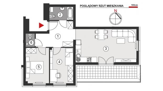 Mieszkanie 64.98 m2