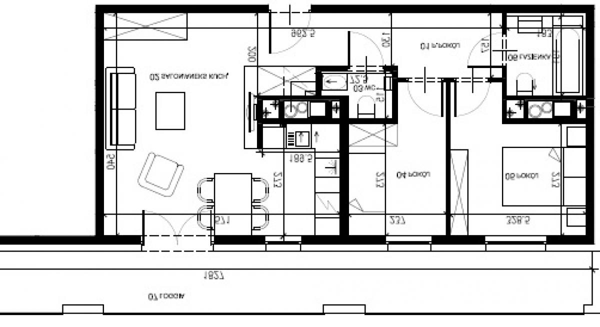 Mieszkanie 57,07 m2, Warszawska/Lubelska, Rzeszów