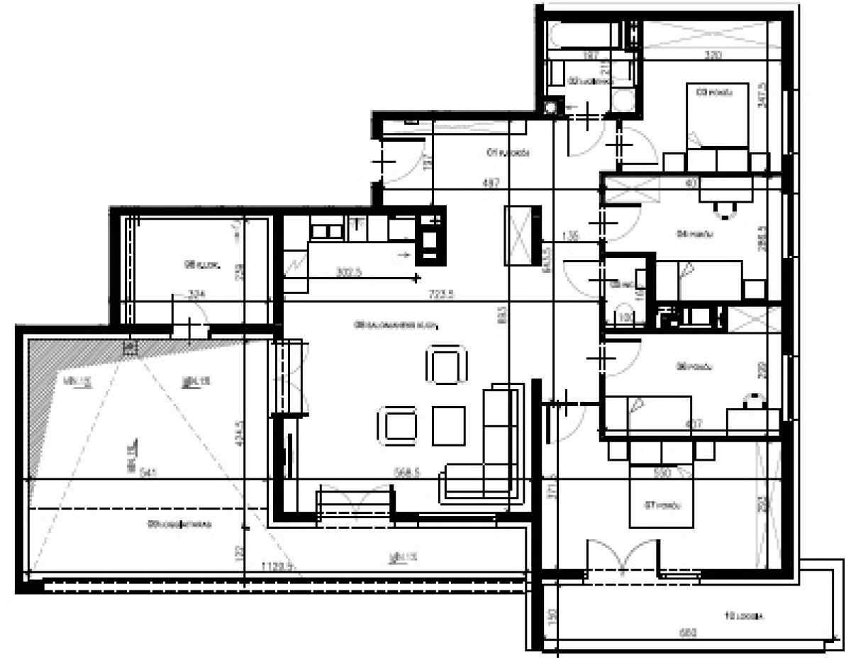 Mieszkanie 109,23 m2, Warszawska/Lubelska, Rzeszów