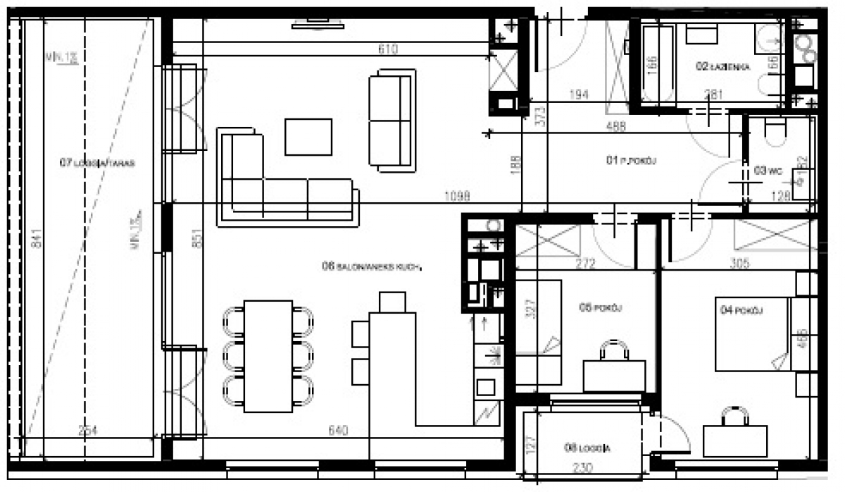 Mieszkanie 94,27 m2, Warszawska/Lubelska, Rzeszów