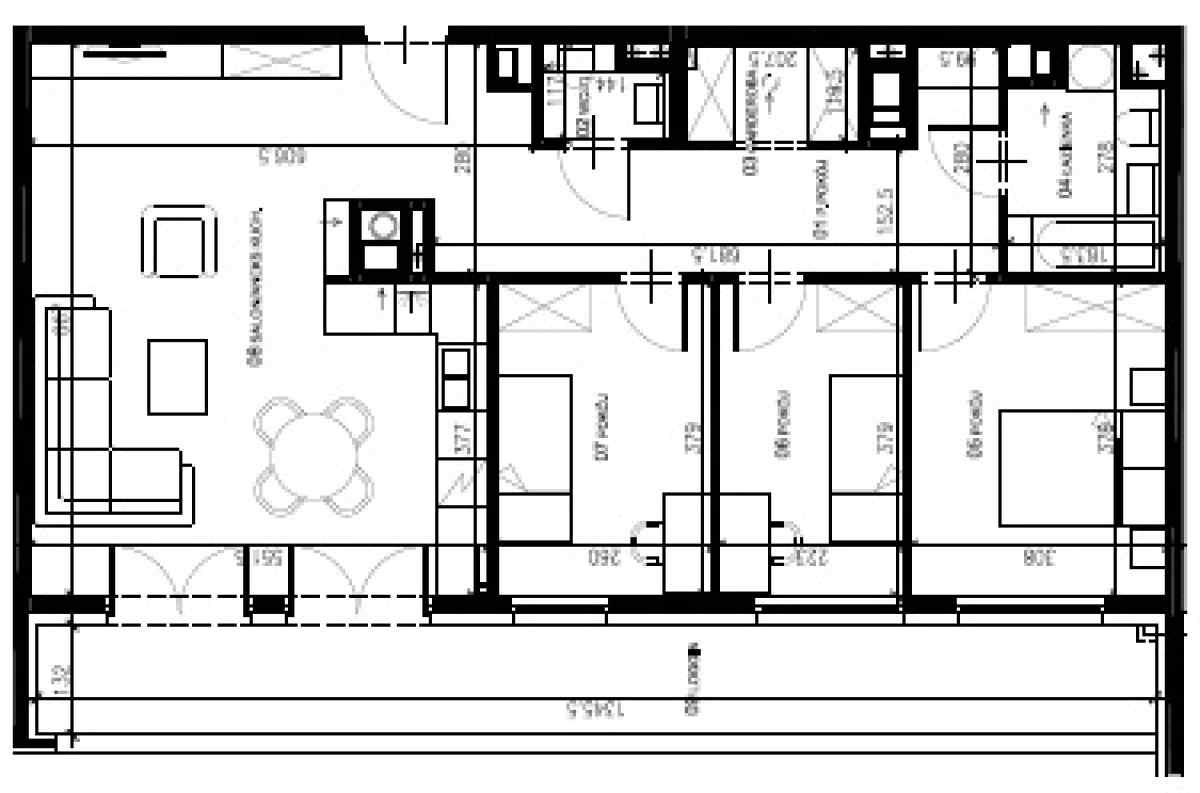 Mieszkanie 84,62 m2, Warszawska/Lubelska, Rzeszów