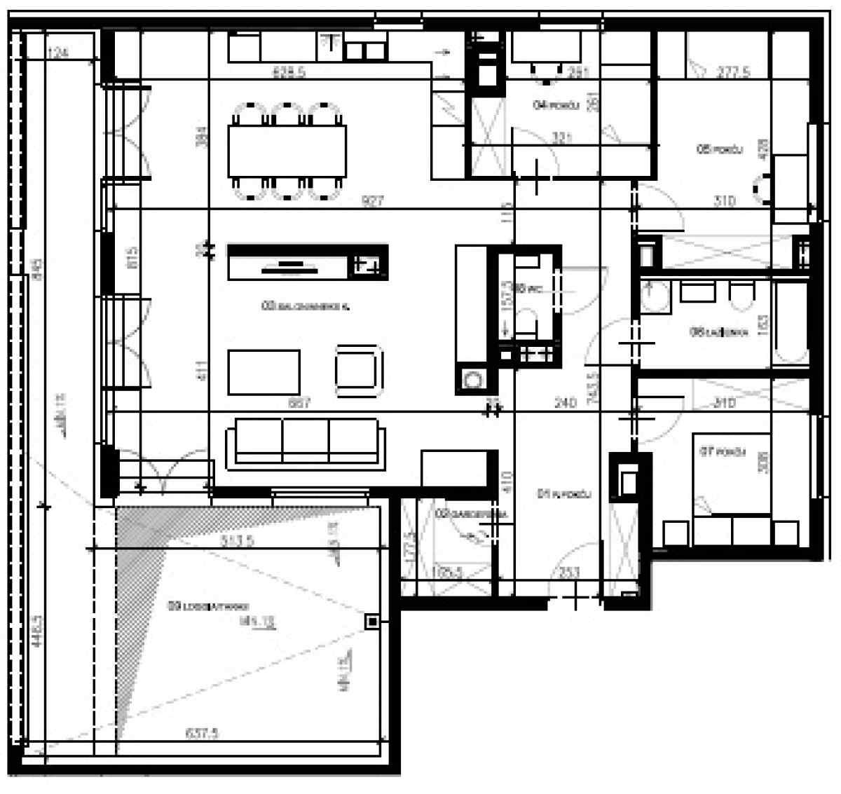Mieszkanie 105,14 m2, Warszawska/Lubelska, Rzeszów