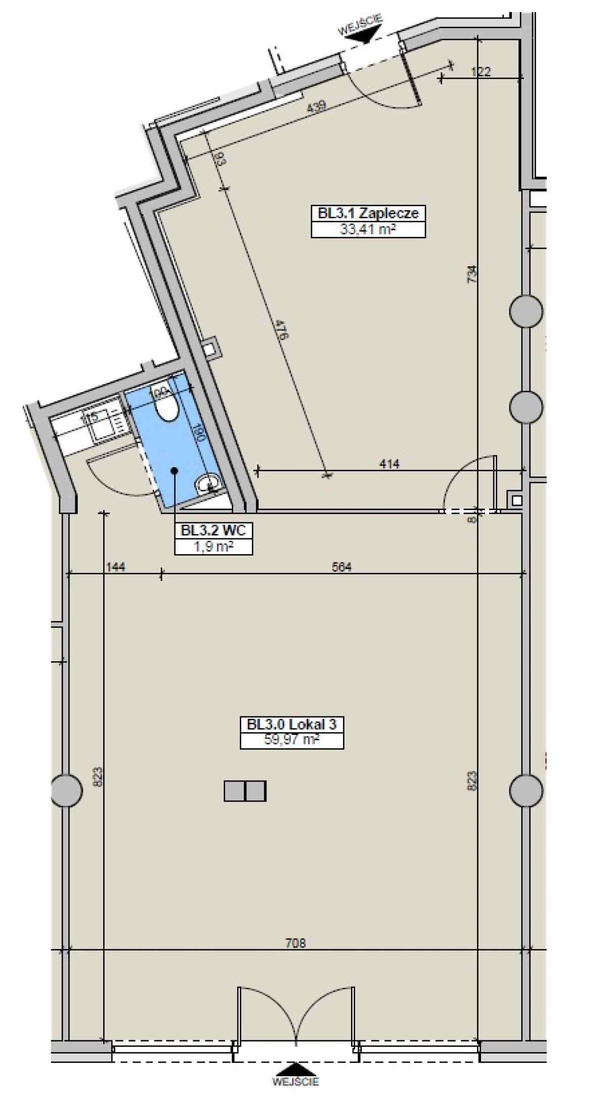 Lokal usługowy 95,28 m2, Paderewskiego, Rzeszów
