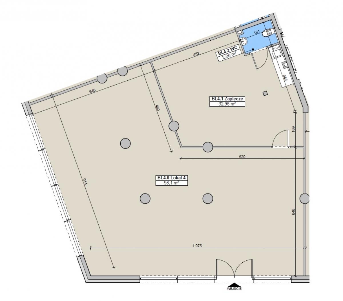 Lokal usługowy 132,87 m2, Paderewskiego, Rzeszów