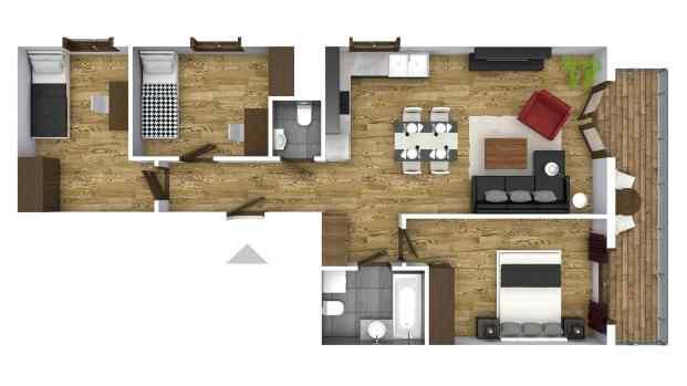Mieszkanie 69.64 m2
