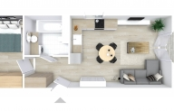 Mieszkanie 38,87 m2, Graniczna, Rzeszów