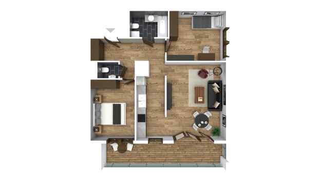 Mieszkanie 66.04 m2