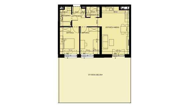 Mieszkanie 59.52 m2