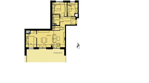 Mieszkanie 68.32 m2